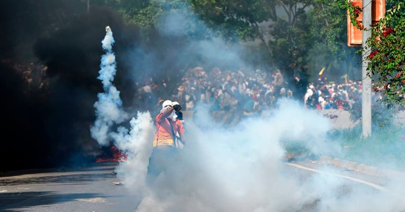 BATTLE LINES ARE BEING DRAWN IN VENEZUELA AS THE SOCIALIST NATION INCHES TOWARD CIVIL WAR