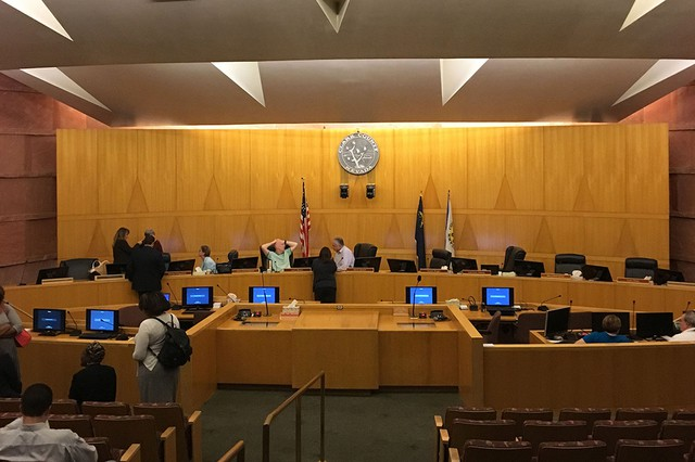Clark County Commission shouldn't have delayed decision on North Las Vegas constable
