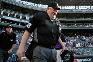 MLB suspends umpire for comments on Rangers' Beltre