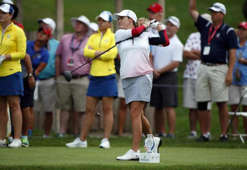 U.S. remain three points ahead of Europe at Solheim Cup