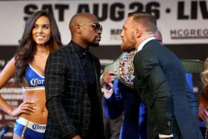 McGregor and Mayweather trade praise not profanities