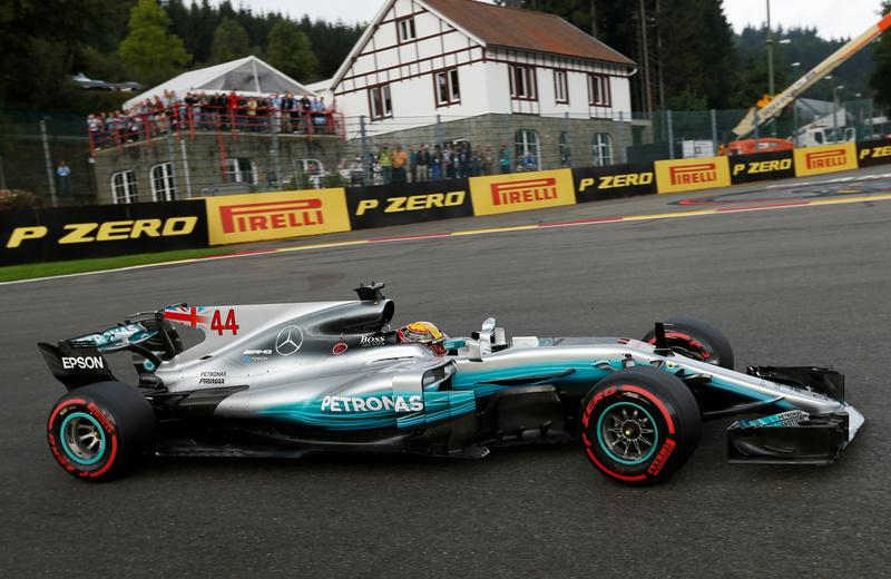 Motor racing: Hamilton equals Schumacher's pole record in 200th race