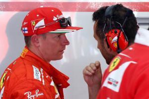 Raikkonen fastest in first Belgian practice