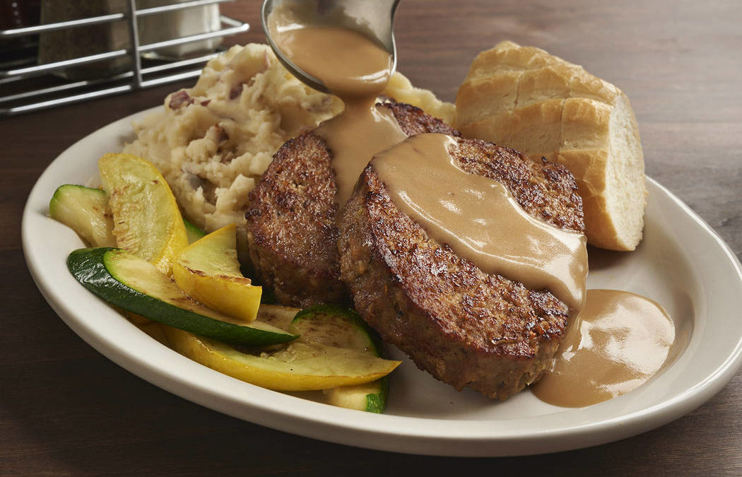 At Las Vegas' Metro Diner, even the meatloaf is exceptional