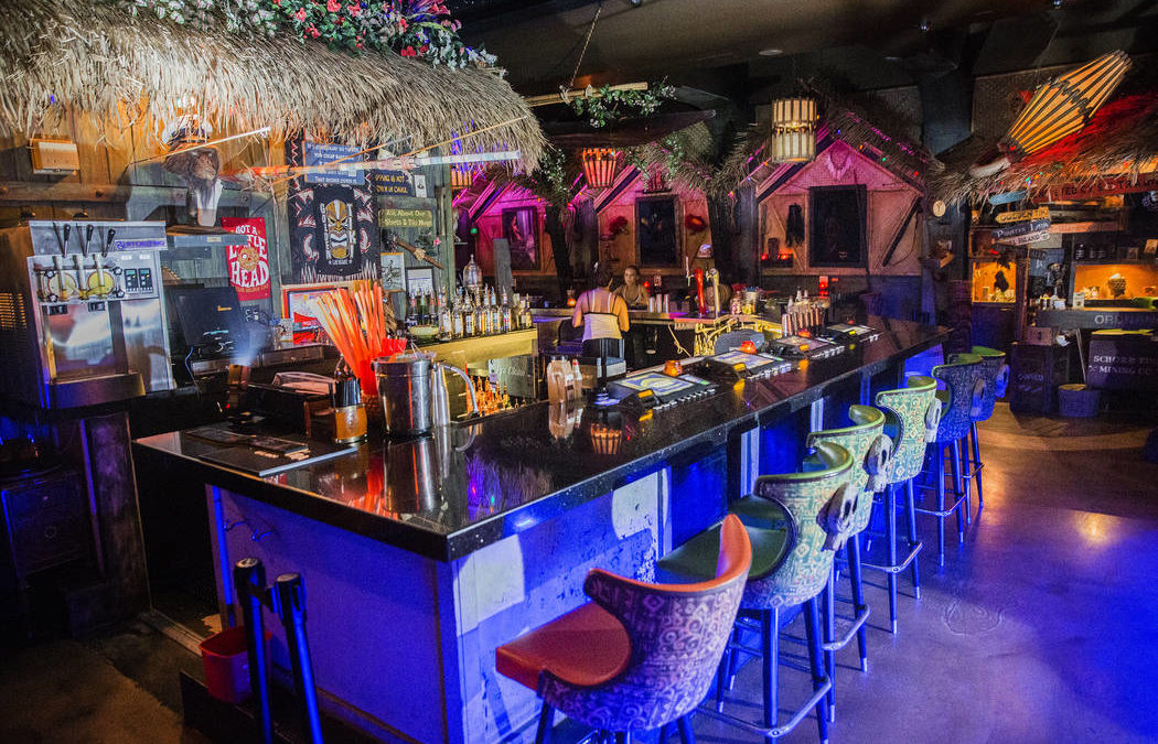 Tiki culture thrives in Las Vegas at Frankie's, Golden Tiki