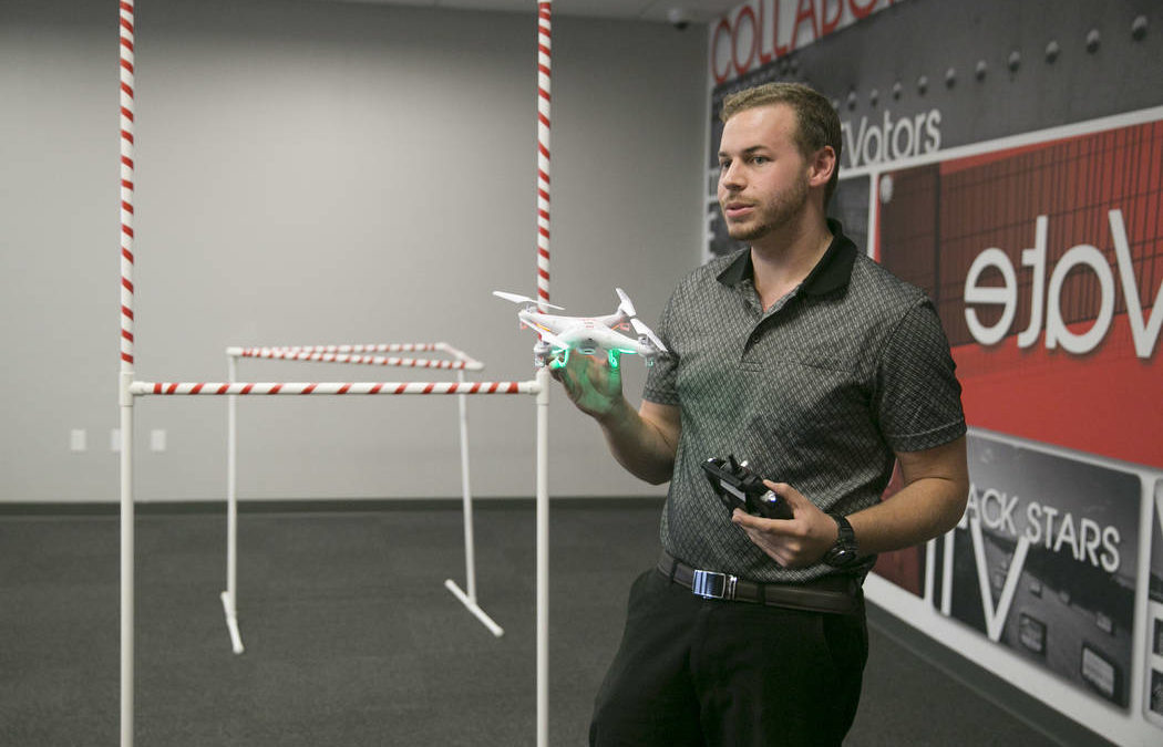 Nevada rolls out pyramid-style drone-training program