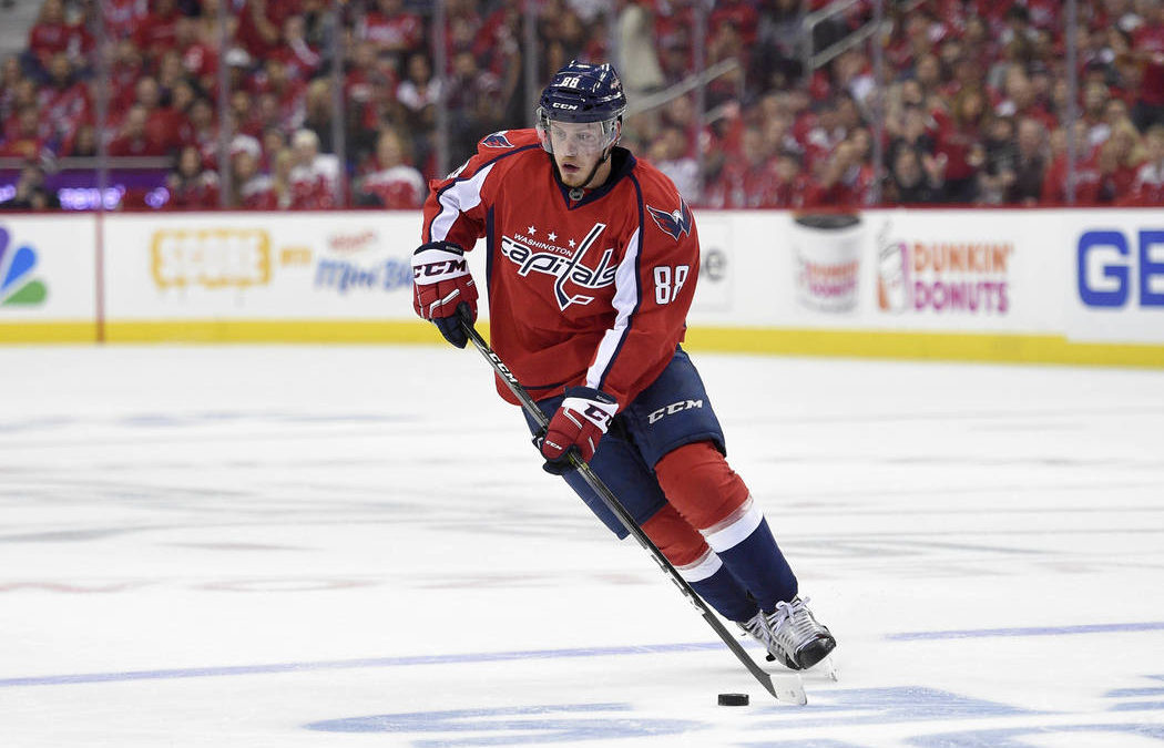 Ankle injury prevents Nate Schmidt from attending Golden Knights event