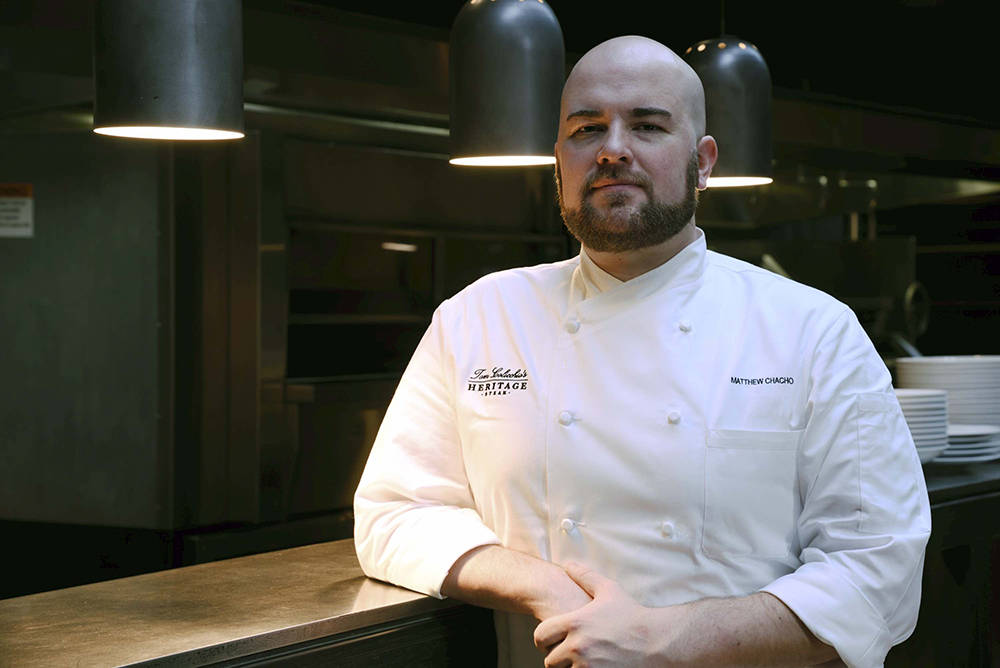 Executive Chef Matthew Chacho gives grilling tips