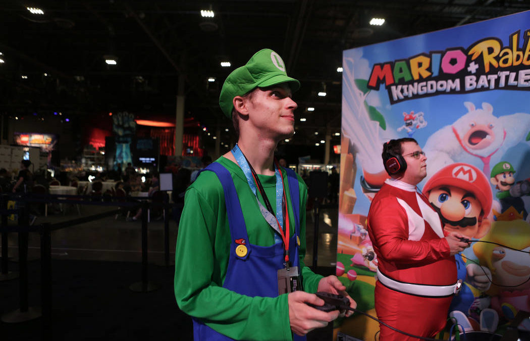 Gamers get peek at upcoming video games during Las Vegas expo