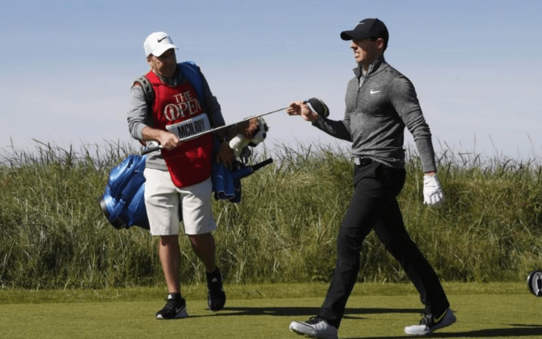 'Build up of stuff' led to caddie sacking, McIlroy says