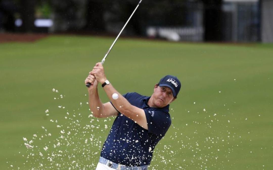 Els and Mickelson hit major century milestone at PGA Championship