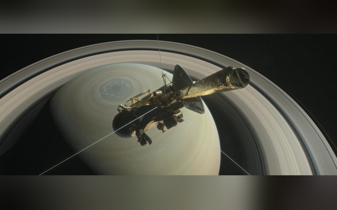 U.S. spacecraft readies for fiery plunge into Saturn after 13-year mission