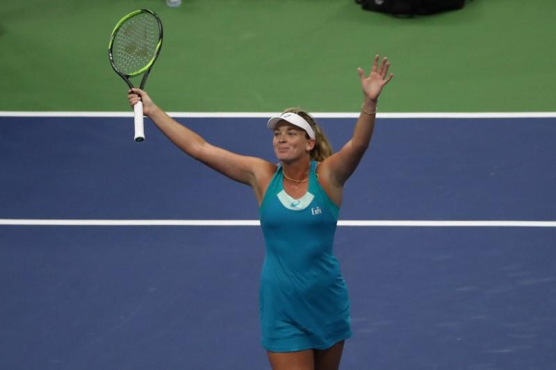 Tennis-Vandeweghe knocks world number one Pliskova out of U.S. Open