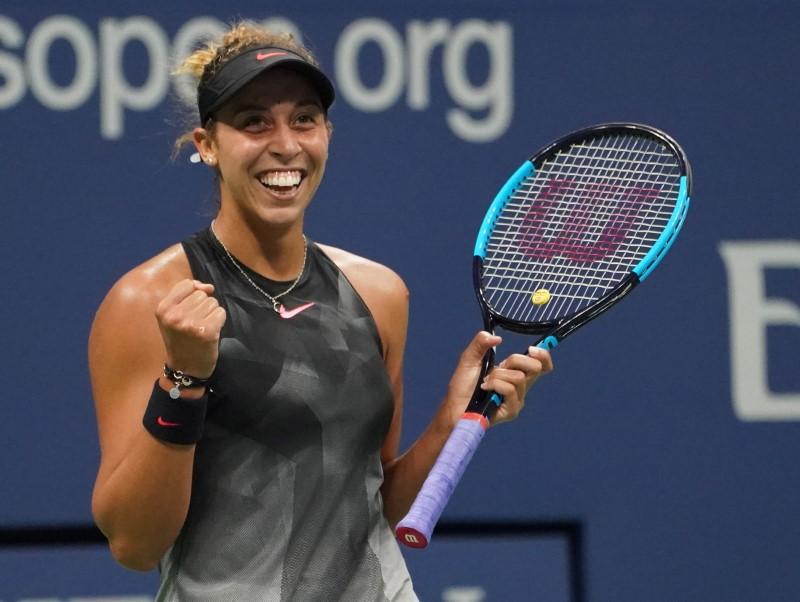 Tennis-Keys opens door to U.S. Open semi-finals