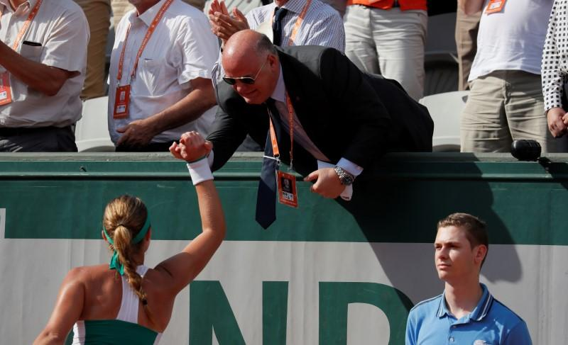 Tennis: Time to stop being losers, says French chief
