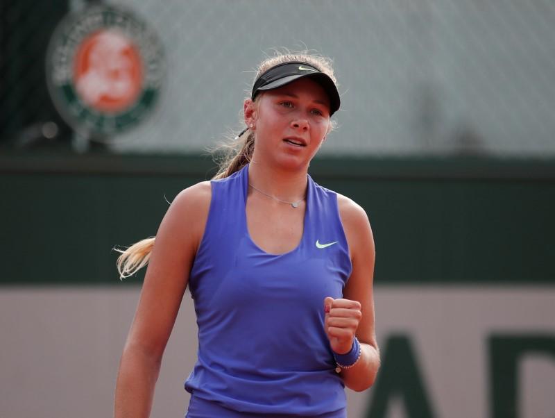 Anisimova sets sights on top spot after junior U.S. Open title