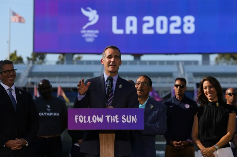 Olympics: LA to benefit from more time to prepare for Games: Garcetti