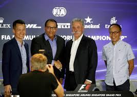 Singapore secures F1 future until 2021