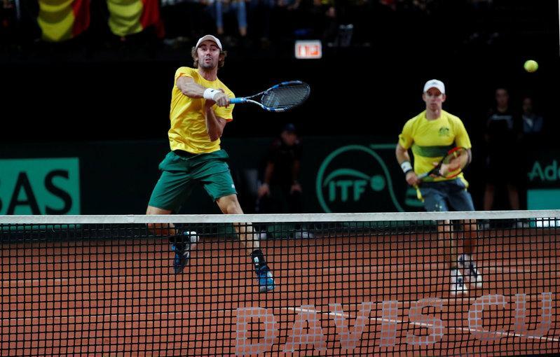Australia go 2-1 up in Davis Cup semi-final