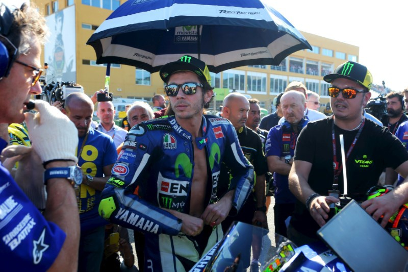 Motorcycling: Rossi not ruling out return in Spain this weekend