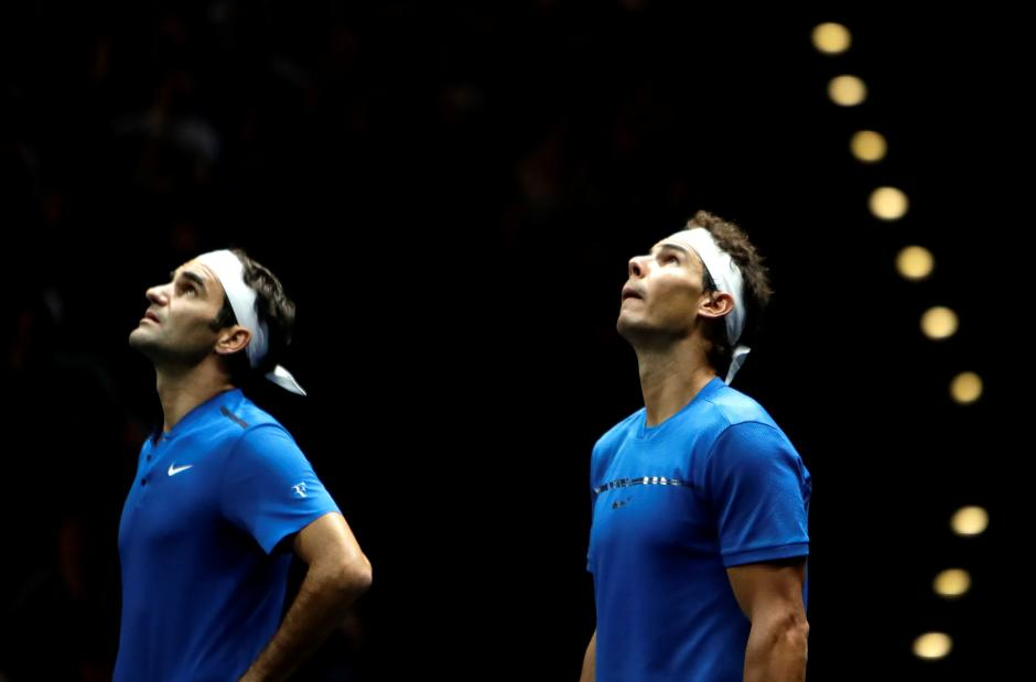 Nadal and Federer team up to widen Europe's lead in Laver Cup