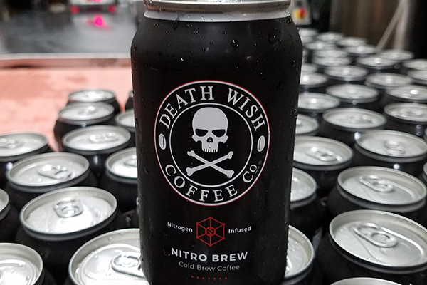 Cans of 'Death Wish' coffee recalled over possible toxin