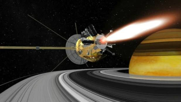Fiery farewell to cap Cassini spacecraft's 13-year Saturn mission
