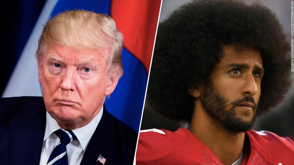 Trump renews clash with U.S. sports world