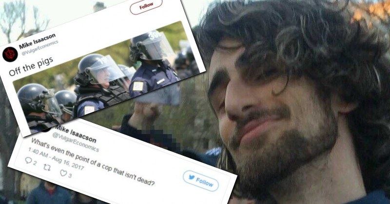 "ANTIFA PROFESSOR CALLED ON PEOPLE TO ""OFF THE PIGS""; STILL NOT FIRED"