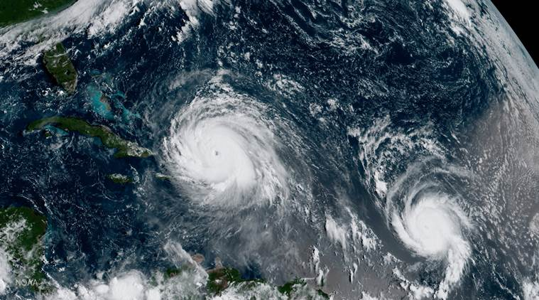 Hurricane Jose staying off U.S. East Coast as Storm Maria forms