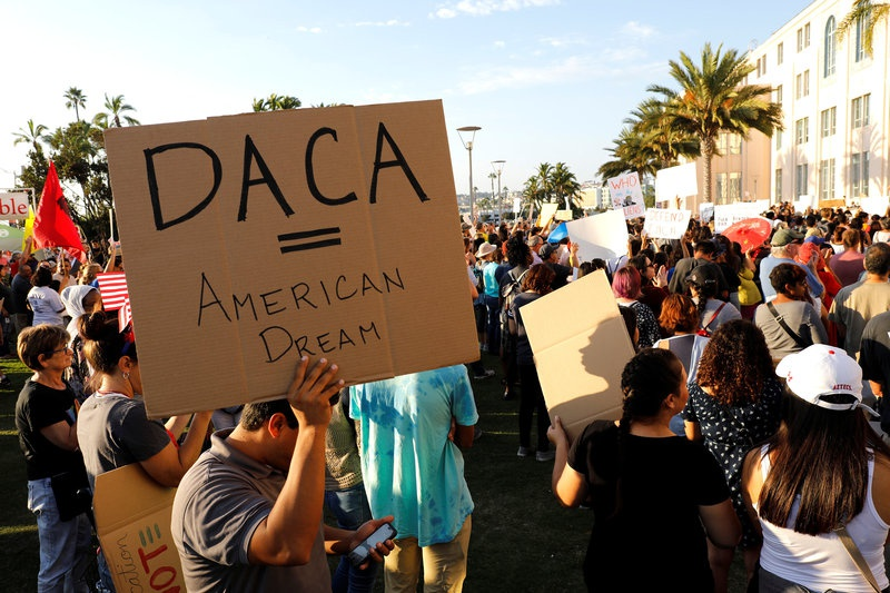 U.S. judge aims to quickly decide lawsuits over DACA