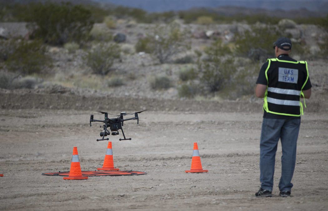 Drone technology on display ahead of Las Vegas conference