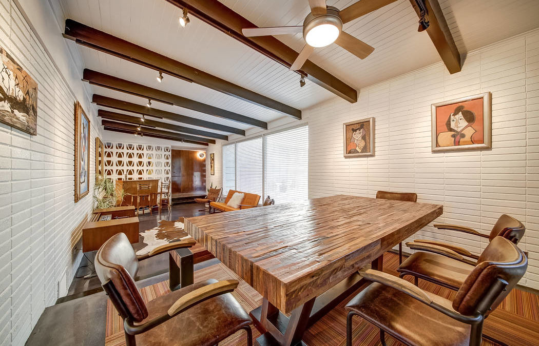 Buyers are attracted to midcentury homes of downtown