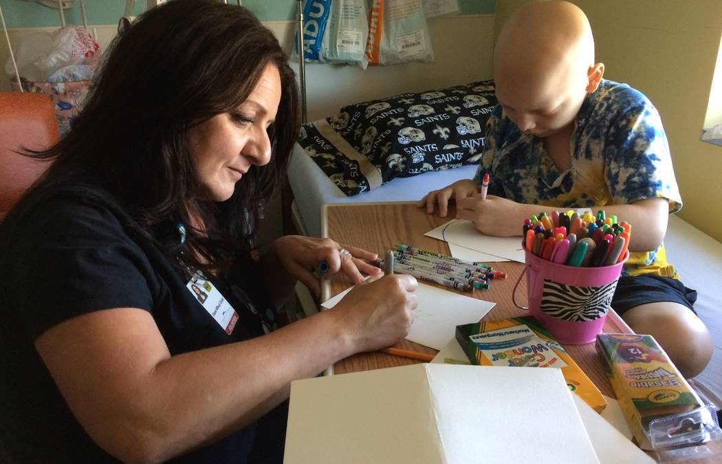 Project brings art to young Summerlin-area patients