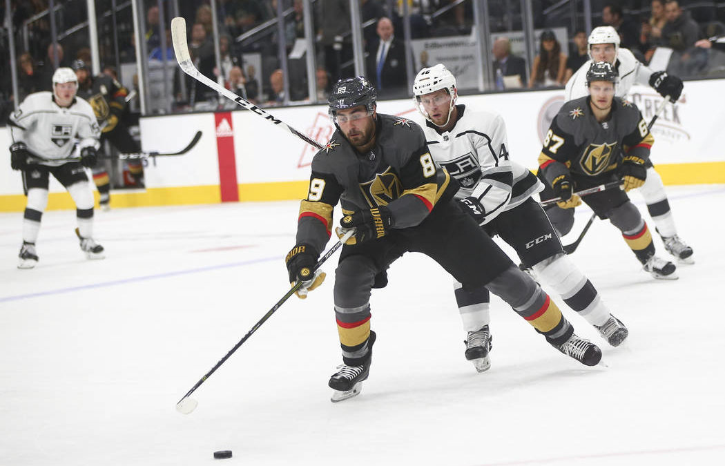 Kings ruin Golden Knights' home debut with 3-2 overtime win