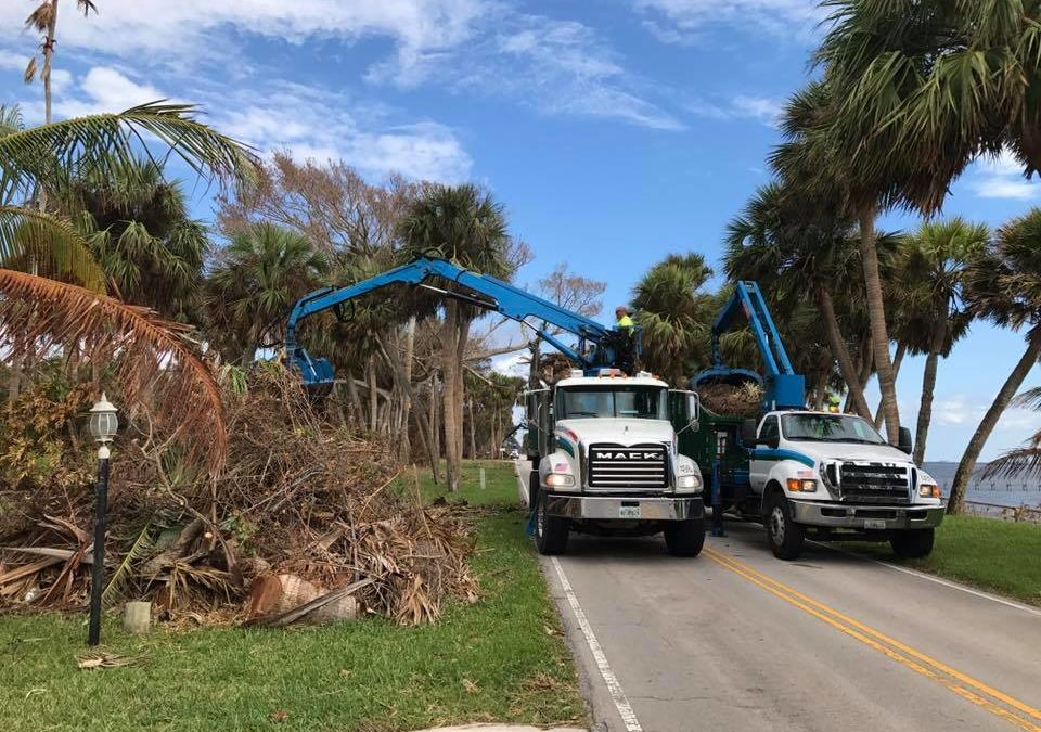 Debris Pickup Underway for Unincorporated St. Lucie County