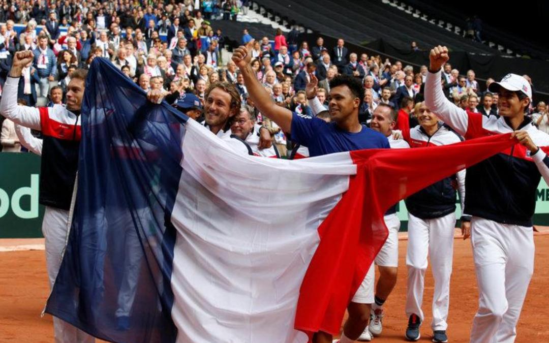 France beat Serbia to reach Davis Cup final