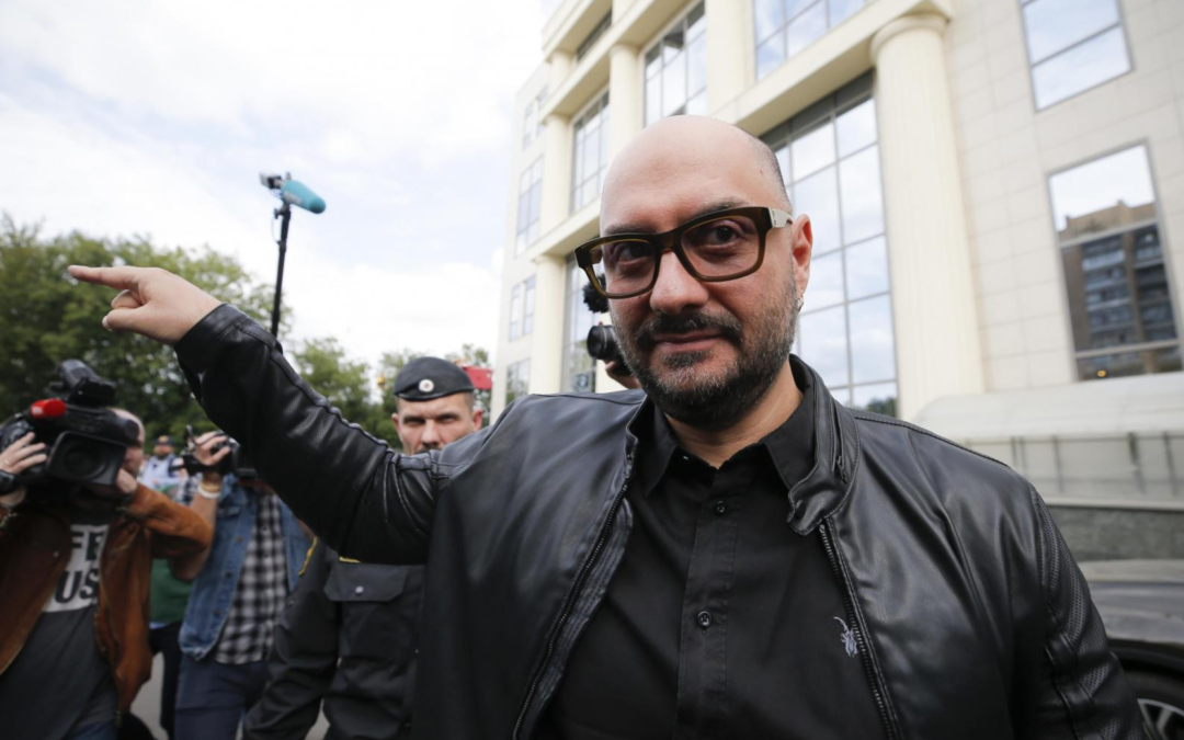 Audience, actors cry foul about arrest of Russian theater director