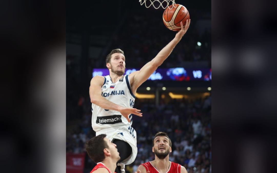 Eurobasket MVP Dragic waves goodbye to Slovenia national team