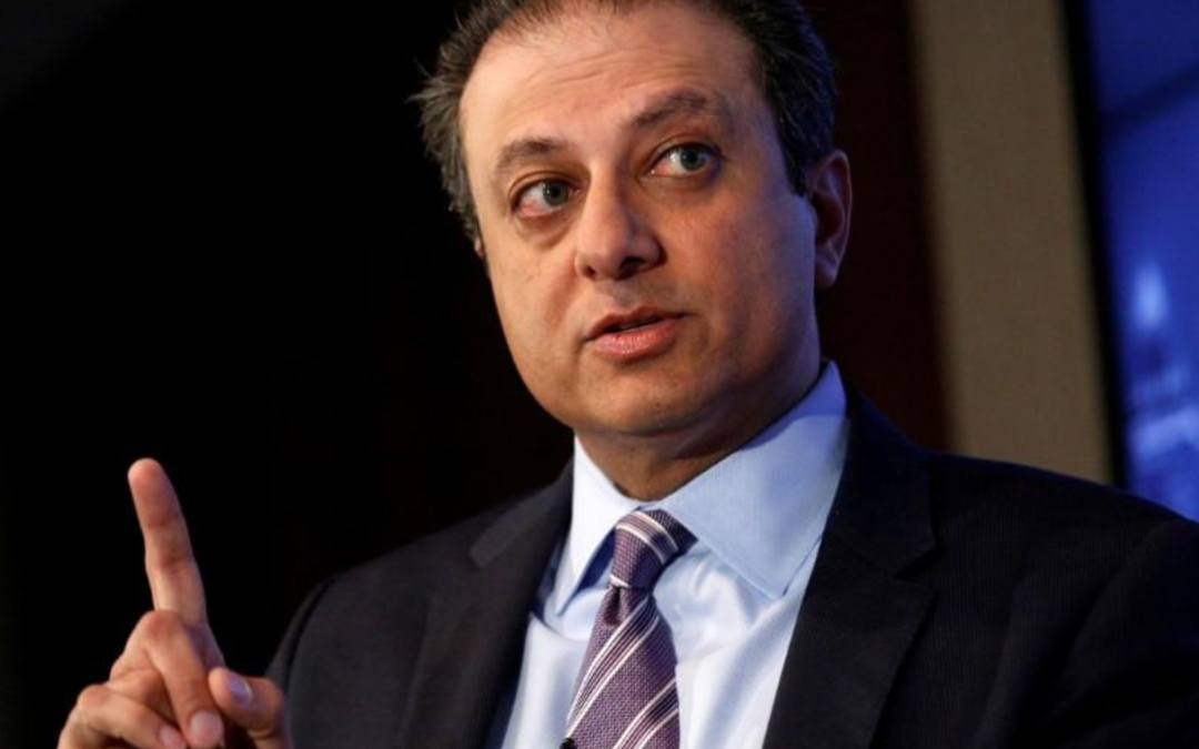 Former U.S. Attorney Bharara joins CNN as senior legal analyst