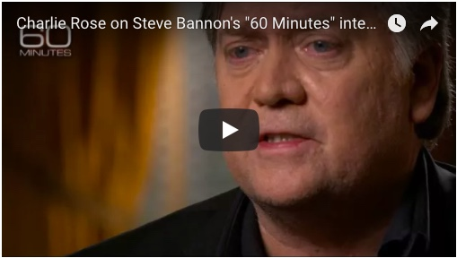60 Minutes: Steve Bannon Full Interview