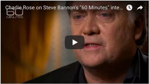 60 Minutes: Steve Bannon Full Interview
