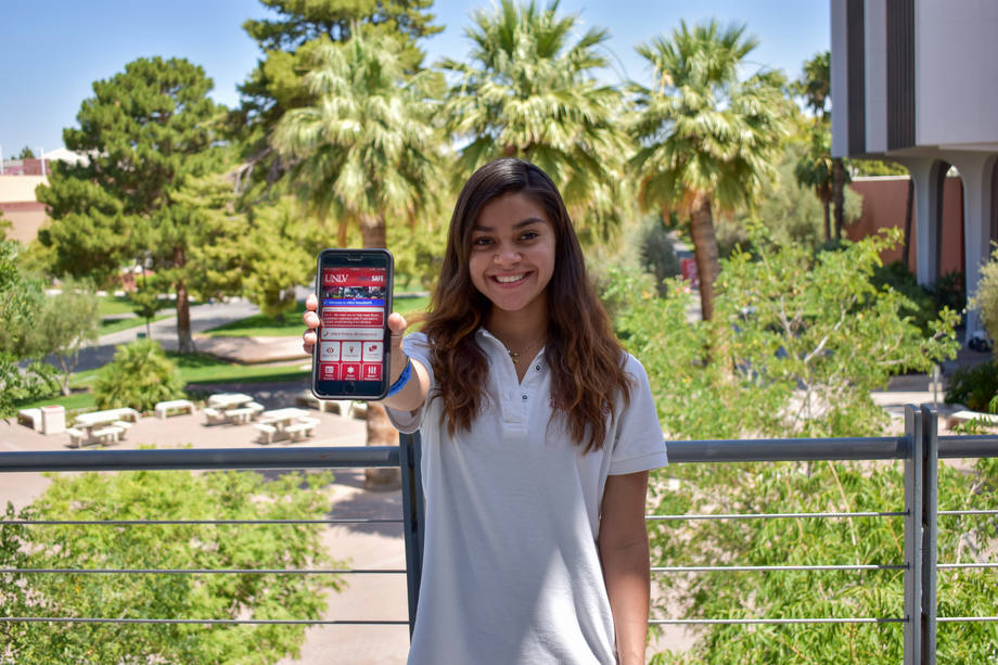 UNLV Police Unveil RebelSAFE App