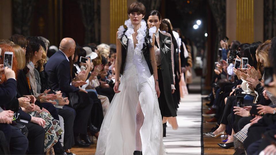 Lanvin show kicks off carousel of new designers in Paris