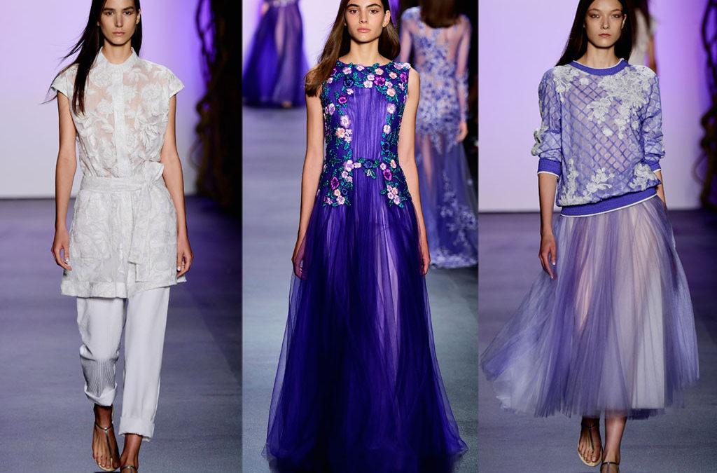 Evening gown designer Shoji breezes into New York Fashion Week