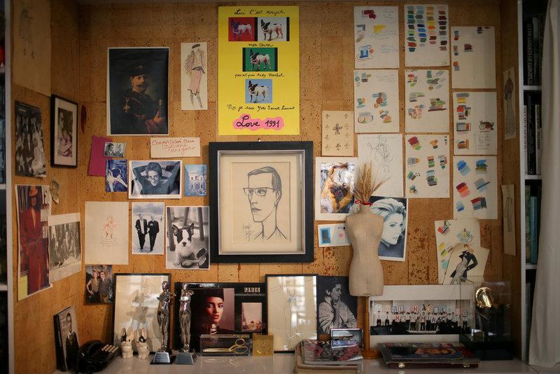 Yves Saint Laurent designs get new airing at Paris museum
