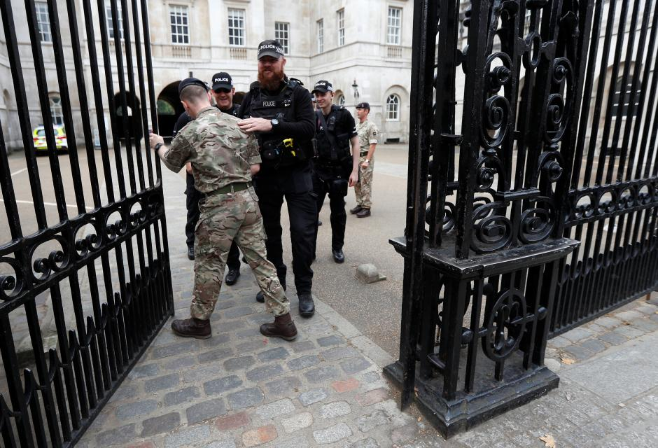 British police arrest man in hunt for London bombers