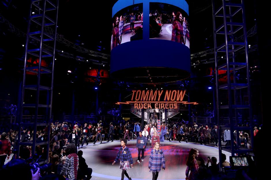 Tommy Hilfiger closes out London Fashion Week with 'rock circus' show
