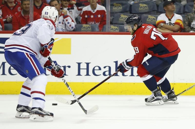 Capitals' Walker becomes first Australian to play in NHL