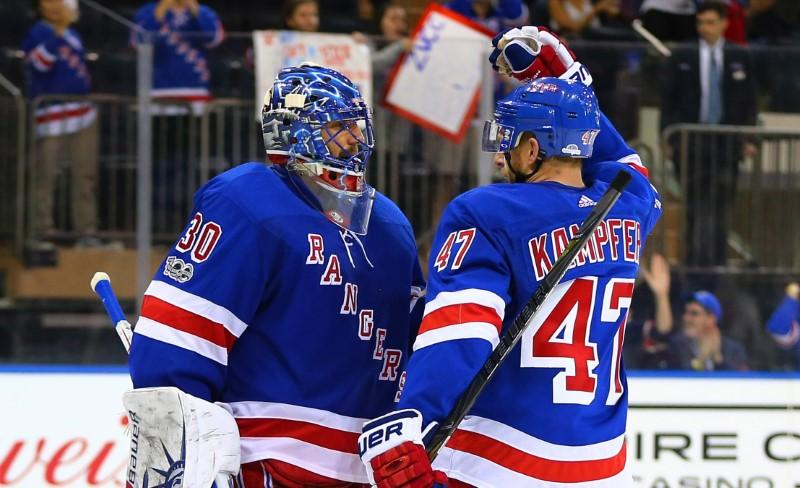 Lundqvist, Rangers blank Canadiens for first win